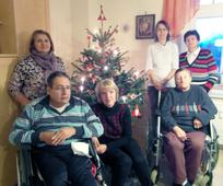 Gruppe Behinderter Menschen