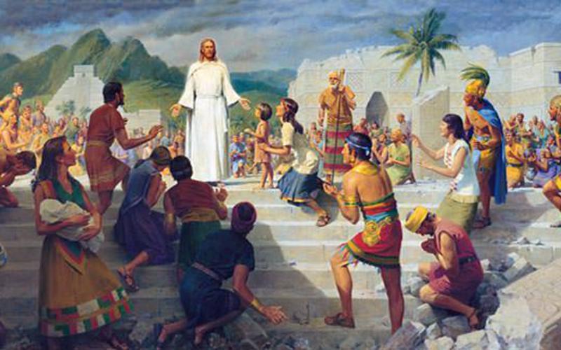 Ιησούς Χριστός στην Αμερική
