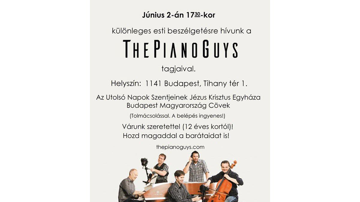 The Piano Guys esti beszélgetés