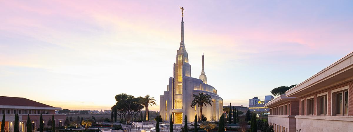 tempio mormone Roma della Chiesa di Gesù Cristo dei Santi degli Ultimi Giorni