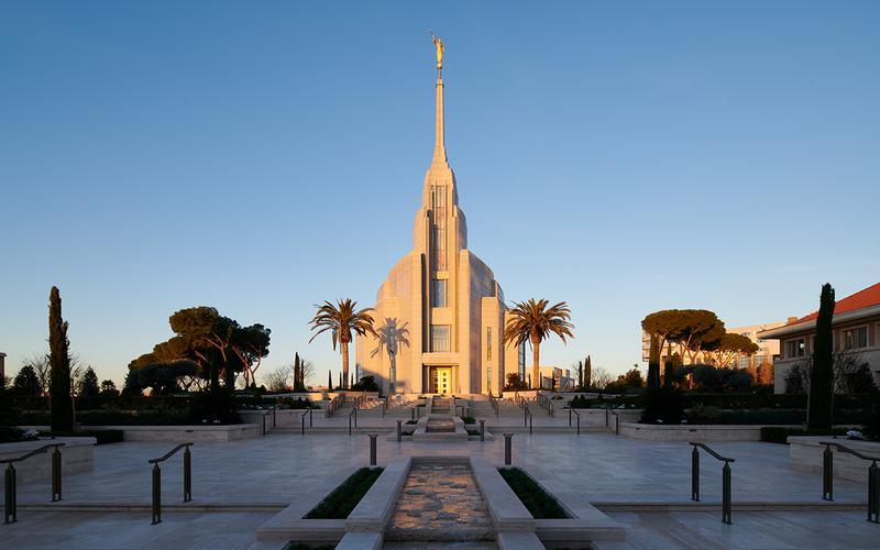 Il tempio di Roma della Chiesa di Gesù Cristo dei Santi degli Ultimi Giorni