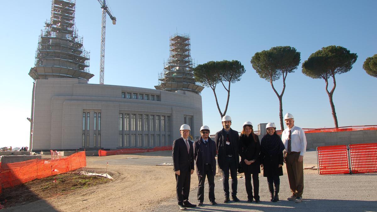 Da sinistra: Alessandro Dini Ciacci, Giuseppe Sartiano, Roberto Monaldi, Roberta Capoccioni, Giovanna Tadonio, John Alley.