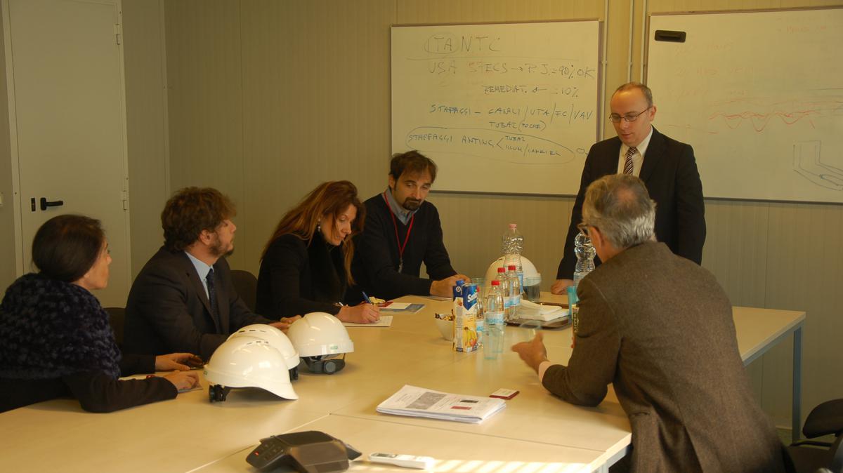 Alessandro Dini Ciacci e Marco Discacciati incontrano Roberta Capoccioni, Presidente del III Municipio di Roma Capitale, e il suo staff.