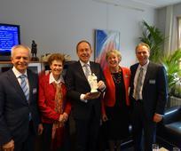 Kees van der Staaij ontvangt Family Award