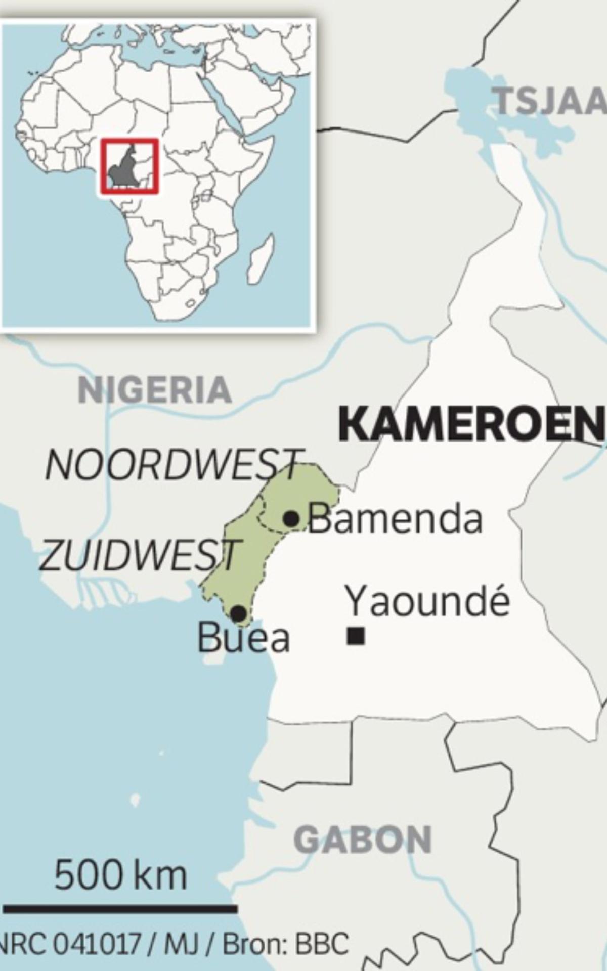 Actie kerk voor vluchtelingen uit Kameroen
