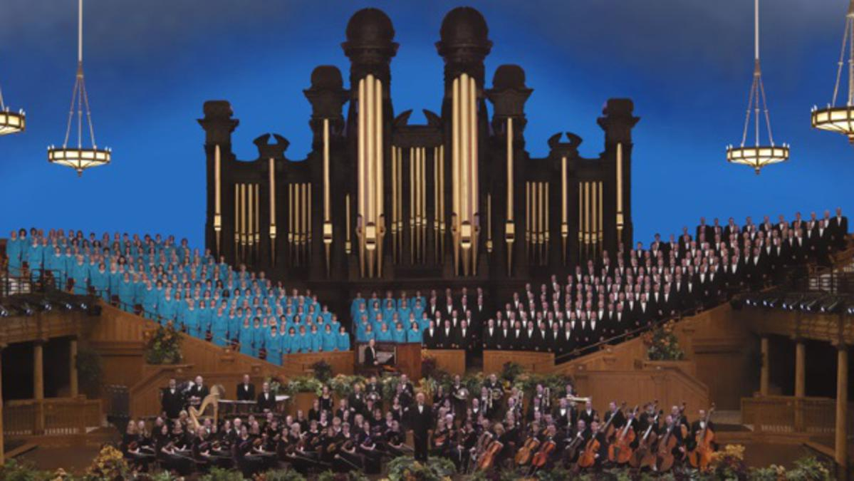 Mormon Tabernacle Choir concerten in Brussel en Rotterdam