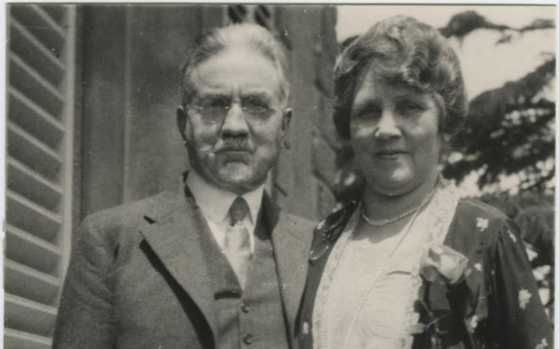 John og Leah Widtsoe
