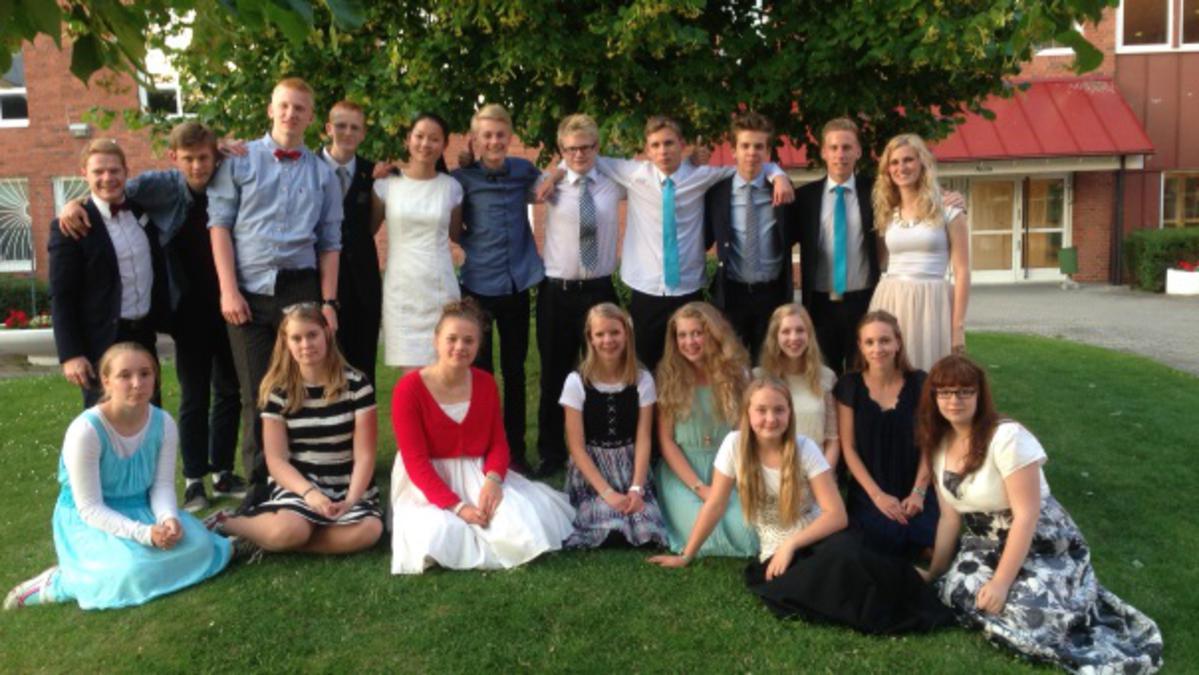 Skandinavisk samling av ungdommer i Lund