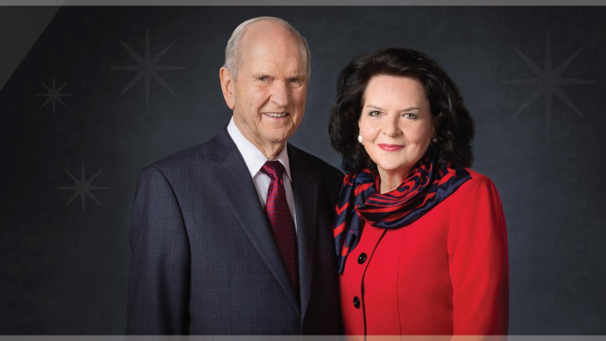 Presiden Russel M. Nelson og Søster Wendy W. Nelson