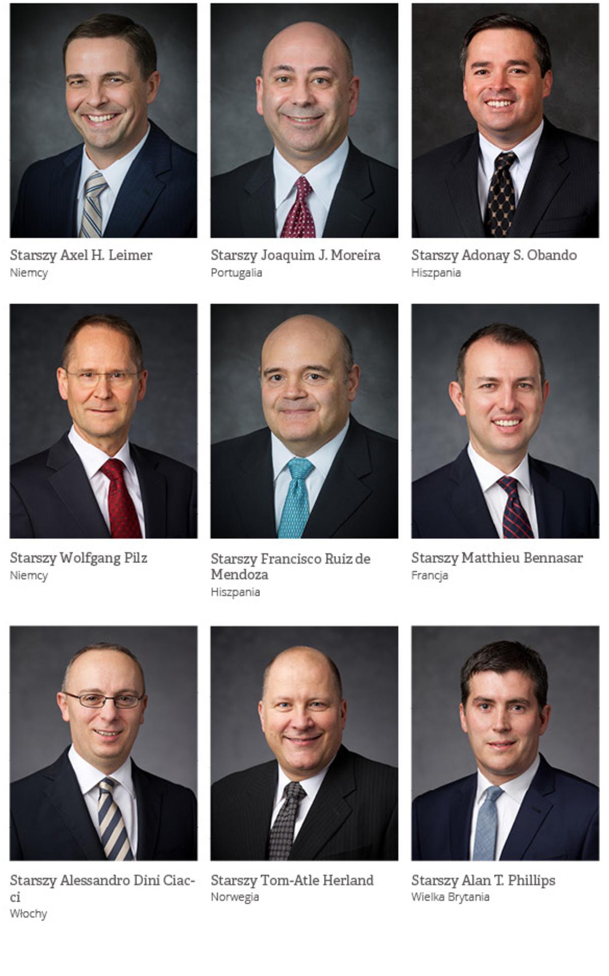 Przywódcy Obszaru Europejskiego