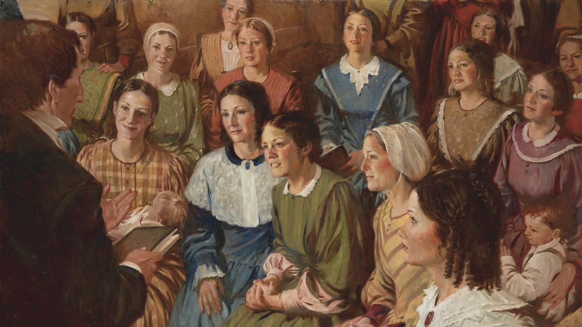 Comemoração do 173 º Aniversário da Sociedade de Socorro na Estaca de Lisboa