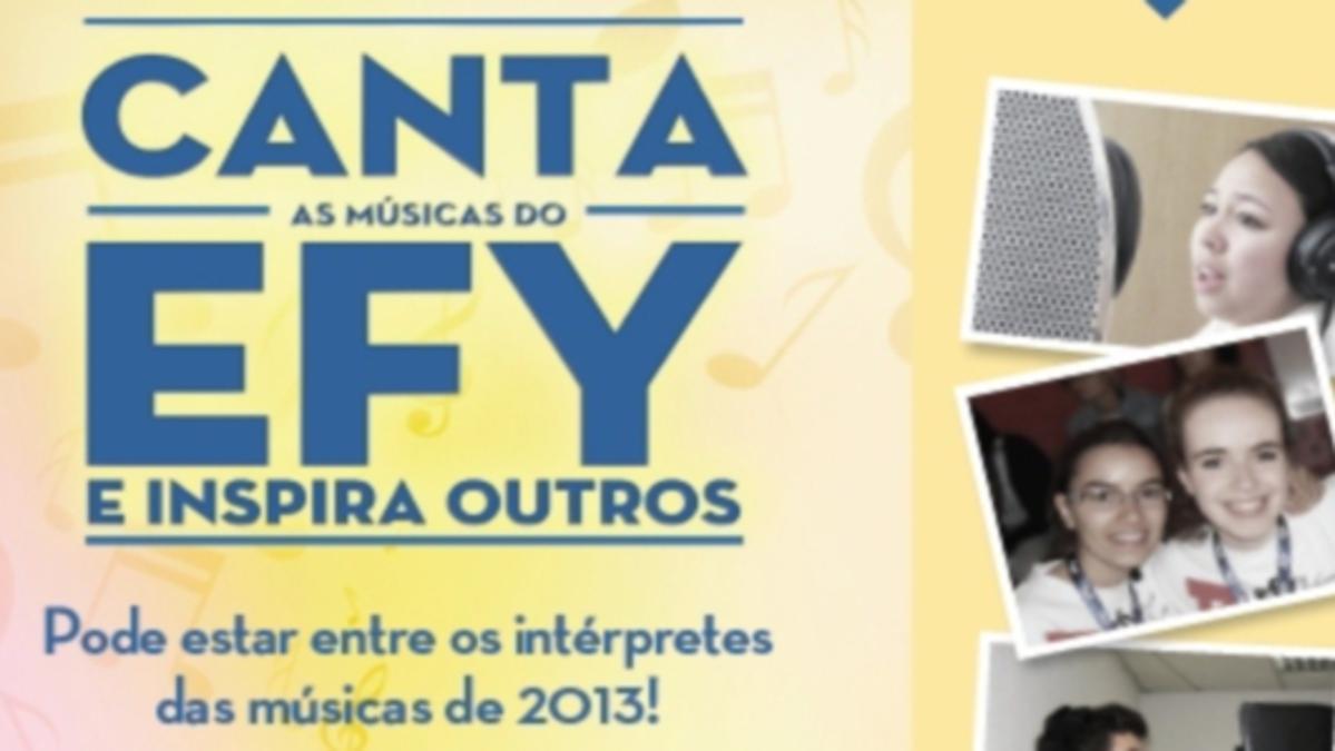 Audições para as músicas do EFY de 2013