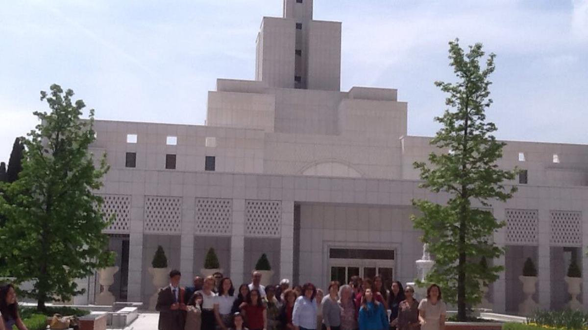 Páscoa no Templo