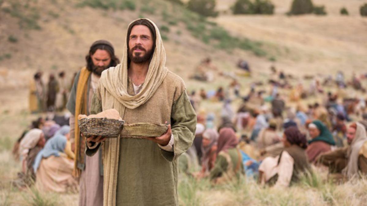 Isus hrănește pe cele 5000