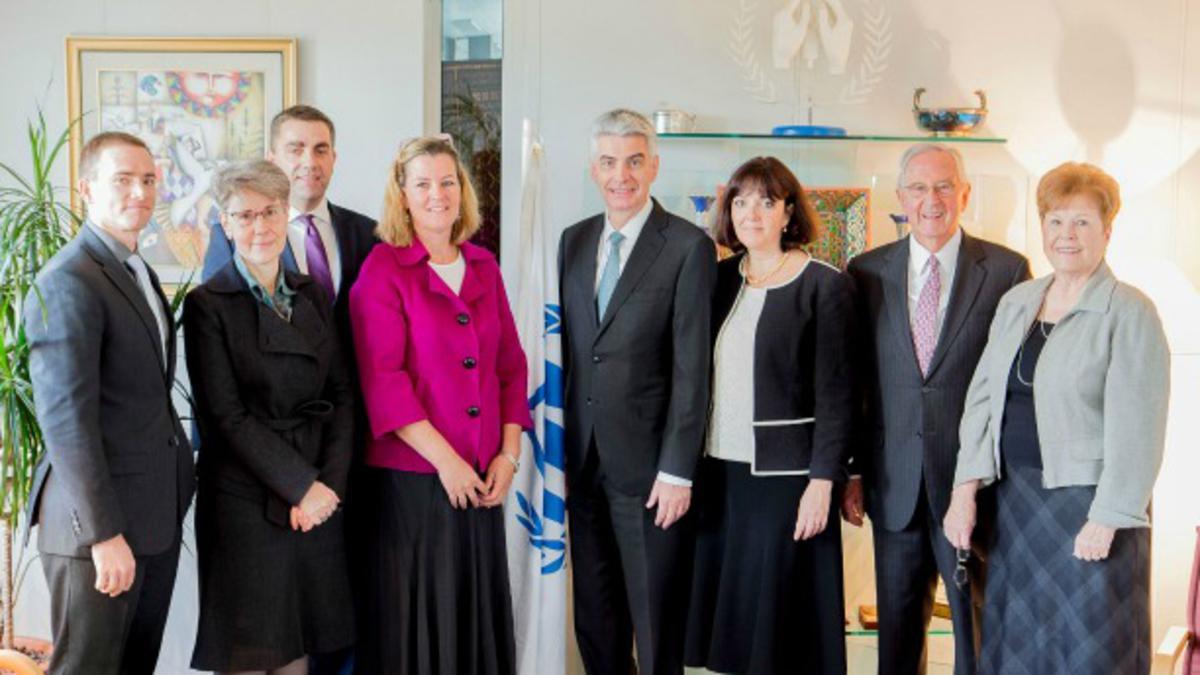 Obisk UNHCR IN UNICEF