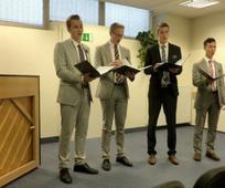 Misijonarski kvartet nastopi v Celju