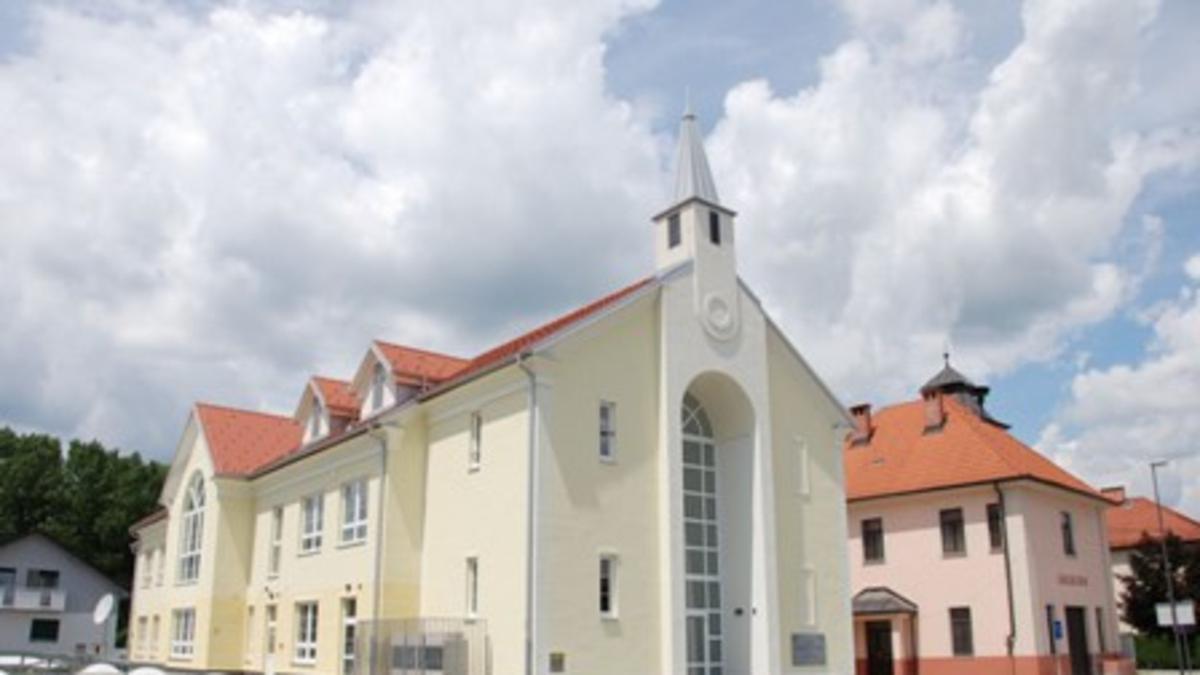 Nova cerkvena zgradba dokončana