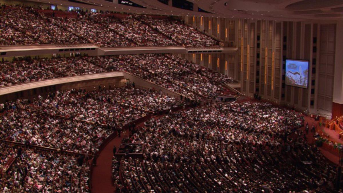 Spremljanje 181. spomladanske generalne konference Cerkve Jezusa Kristusa svetih iz poslednjih dni
