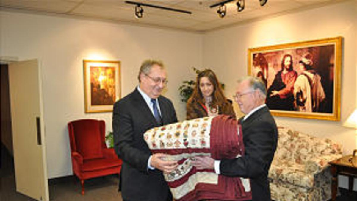 Veleposlanik hvaležen za človekoljubno delo Cerkve