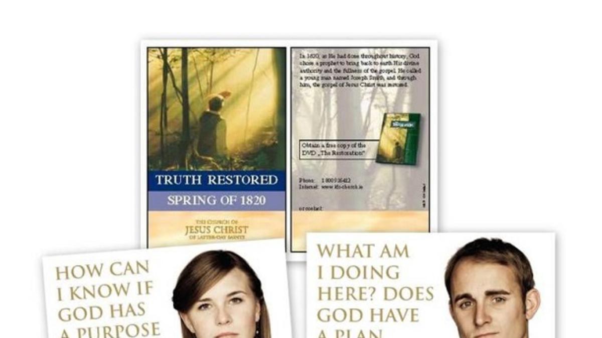 Nove promocijske kartice - odlično orodje za misijonarsko delo