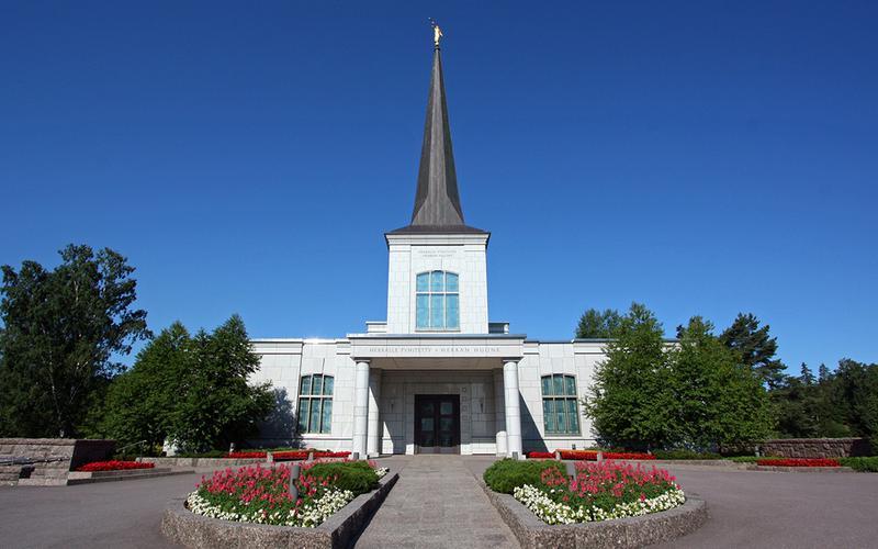 I templi dei mormoni sono dedicati a Dio.