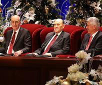Primera Presidencia en el devocional de Navidad de 2015