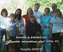 La familia Smith compartirá los recuerdos de los años de servicio en España.