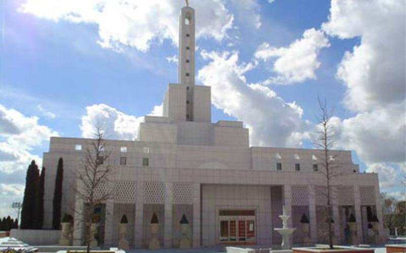 Templo de Madrid, España