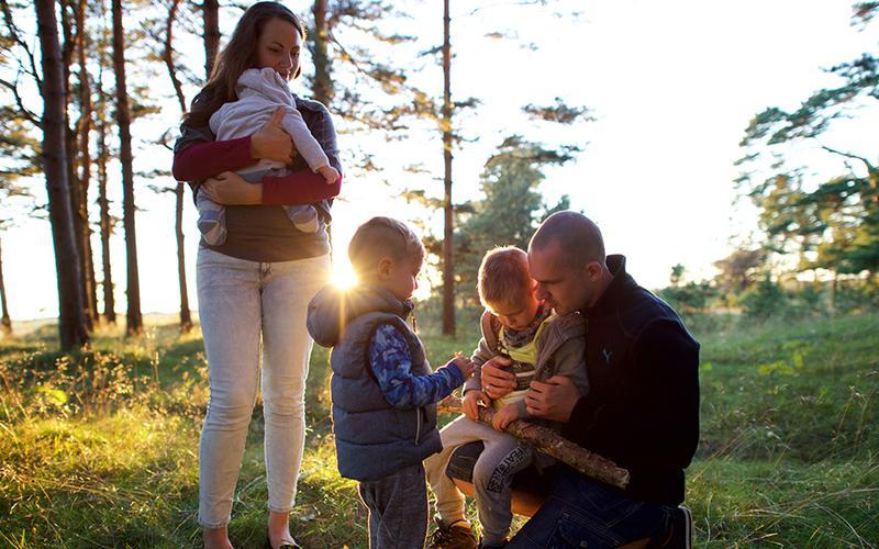 Las familias mormonas creen en la importancia de pasar tiempo juntos