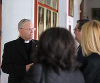 Obispo de la Diócesis de Cartagena, José Manuel Lorca Planes