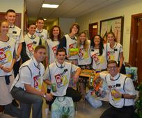 Los mormones de Las Palmas recogieron 200 kilos de alimentos para los necesitados, mediante un concierto del Grupo Marmara.