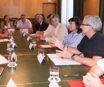 componentes de la mesa de diálogo interreligioso en zaragoza