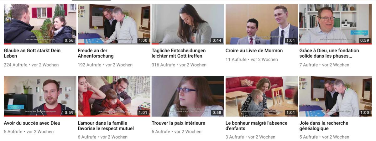 10 familles témoignent en vidéo
