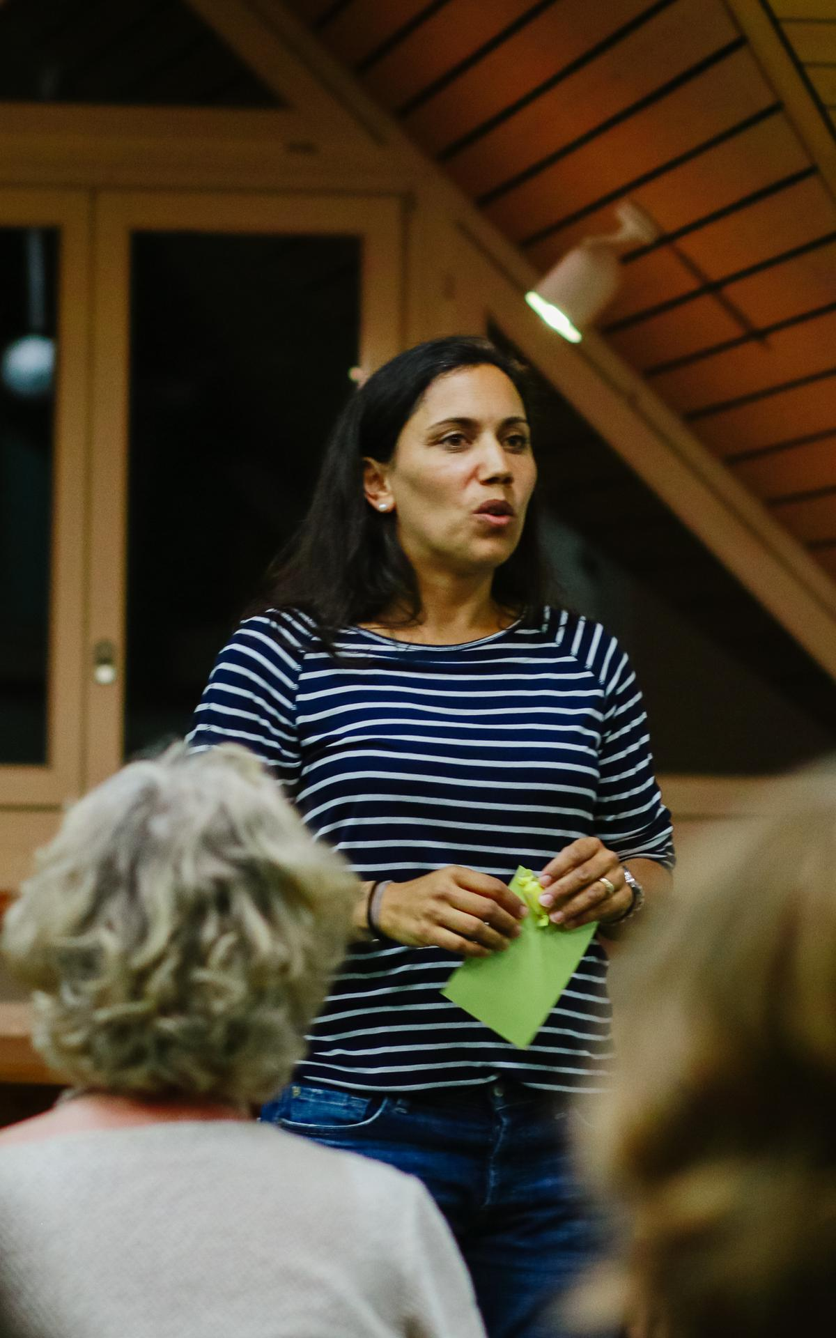Pfahl-FHV-Leiterin Dominique Ruetz