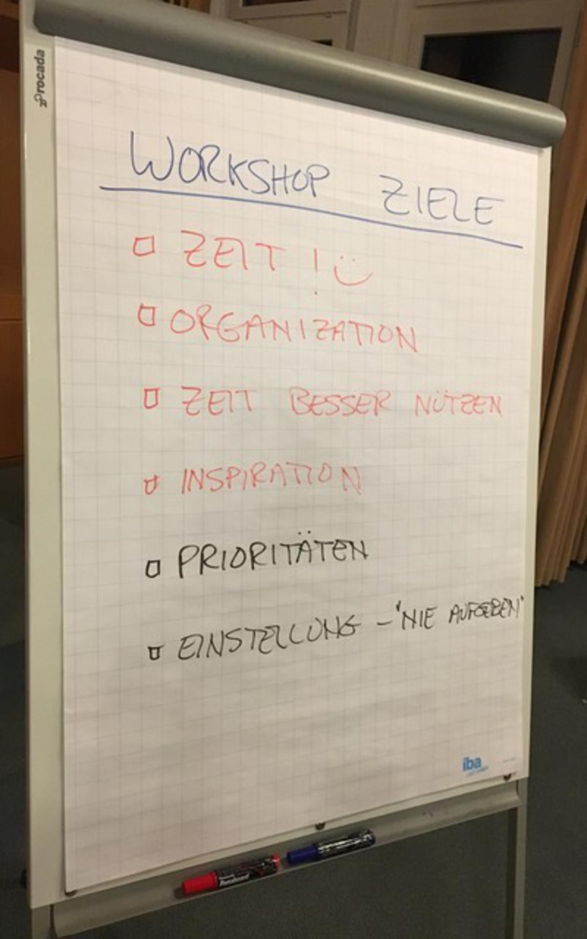 einige der Diskussionspunkte des Vortrags