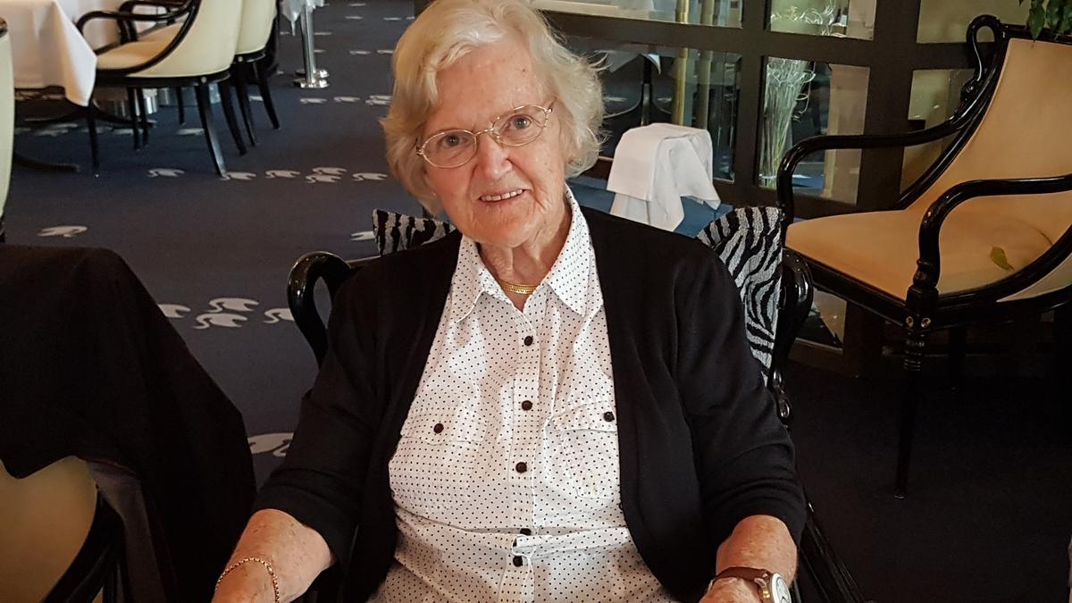 Schwester Staub ist ein Beispiel an Treue im Evangelium