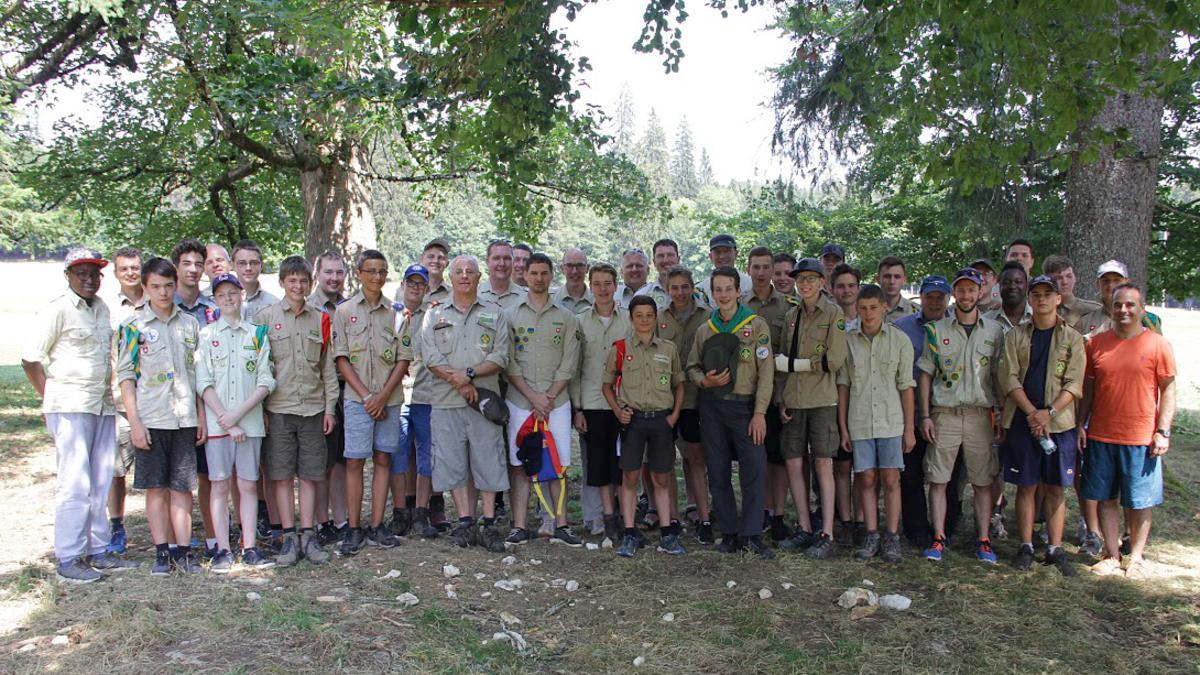 Scout-Lager Teilnehmer