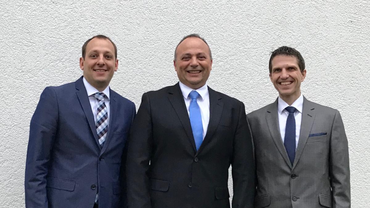 Von links nach rechts: Benjamin Wolfsberger, Daniel Dätwyler, Thomas Jakob