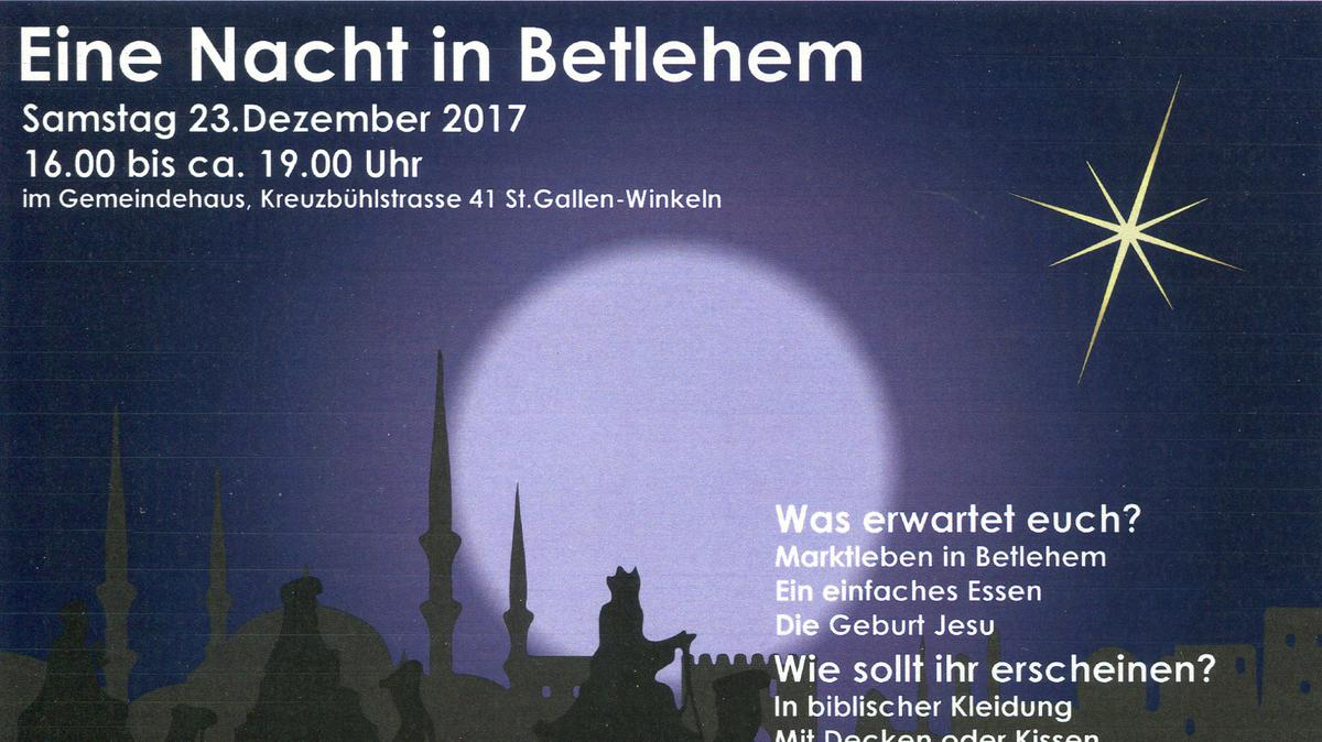 Flyer Bethlehem St. Gallen