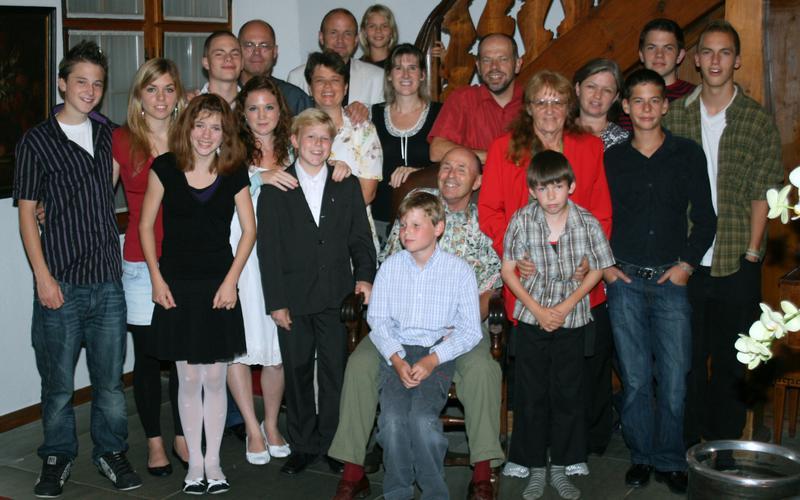 Familie von Robert Diezi