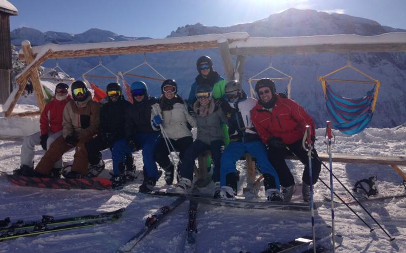 Snowcamp, Ski fahren