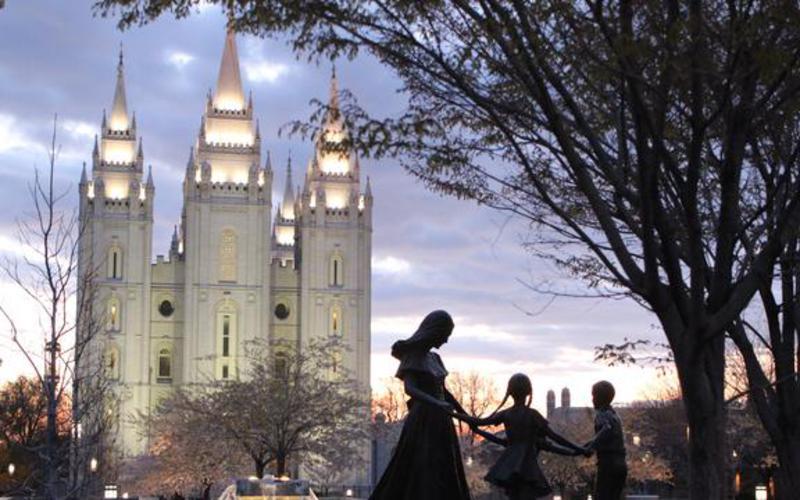 Tempelplatz Salt Lake City