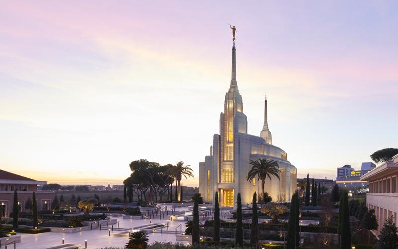 Prophet wird Rom-Tempel weihen
