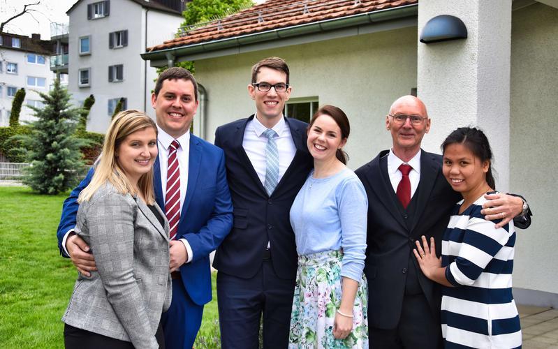 Dustin Aeschbacher ist der neue Bischof der Gemeinde Kreuzlingen