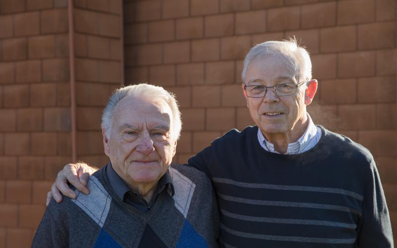 Die beiden Brüder, die den Pfahl Zürich in der Schweiz entscheidend prägten.
