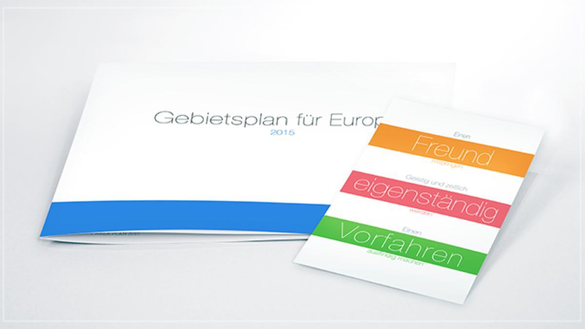 Noch einmal zum Gebietsplan Europa