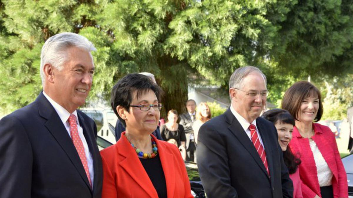 Präsident Dieter F. Uchtdorf besucht Europa