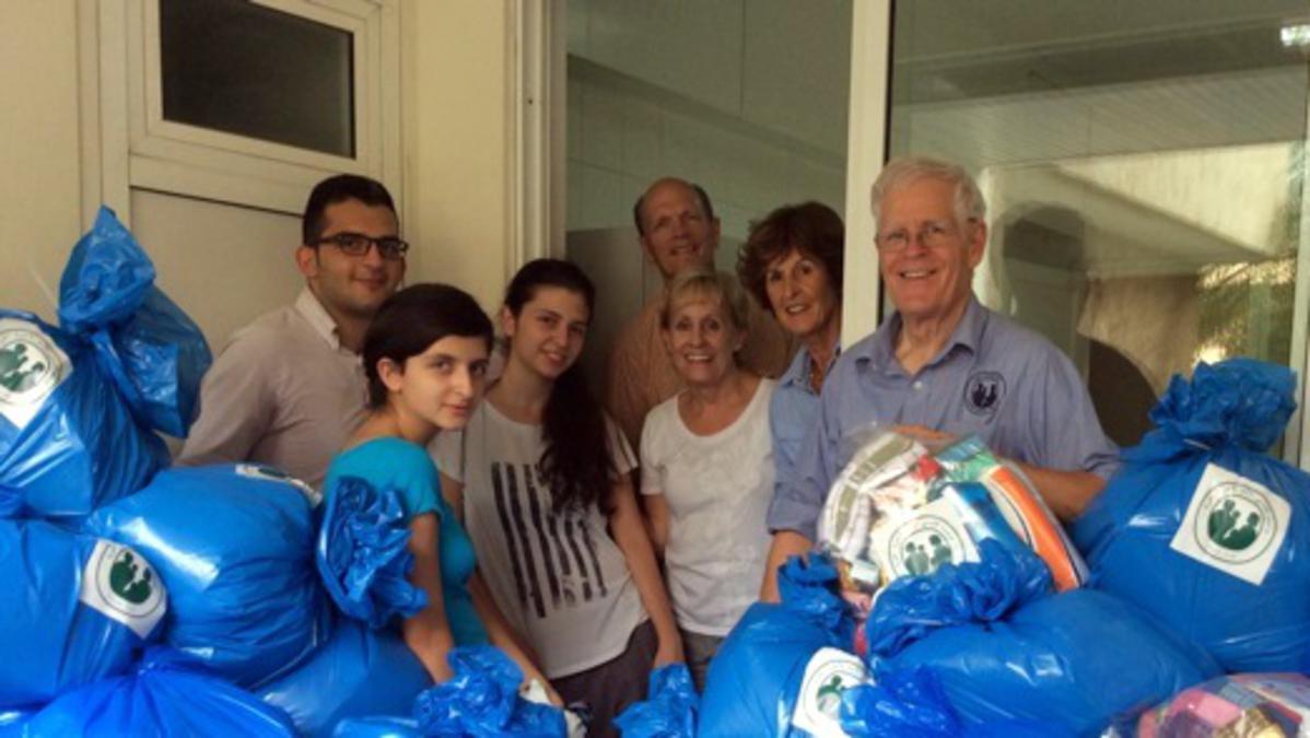 Wohlfahrtsmissionare für LDS Charities im Libanon