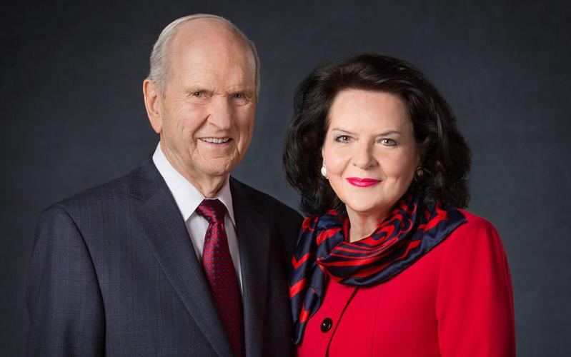 President Russell M. Nelson and his wife, Sister Wendy W. Nelson