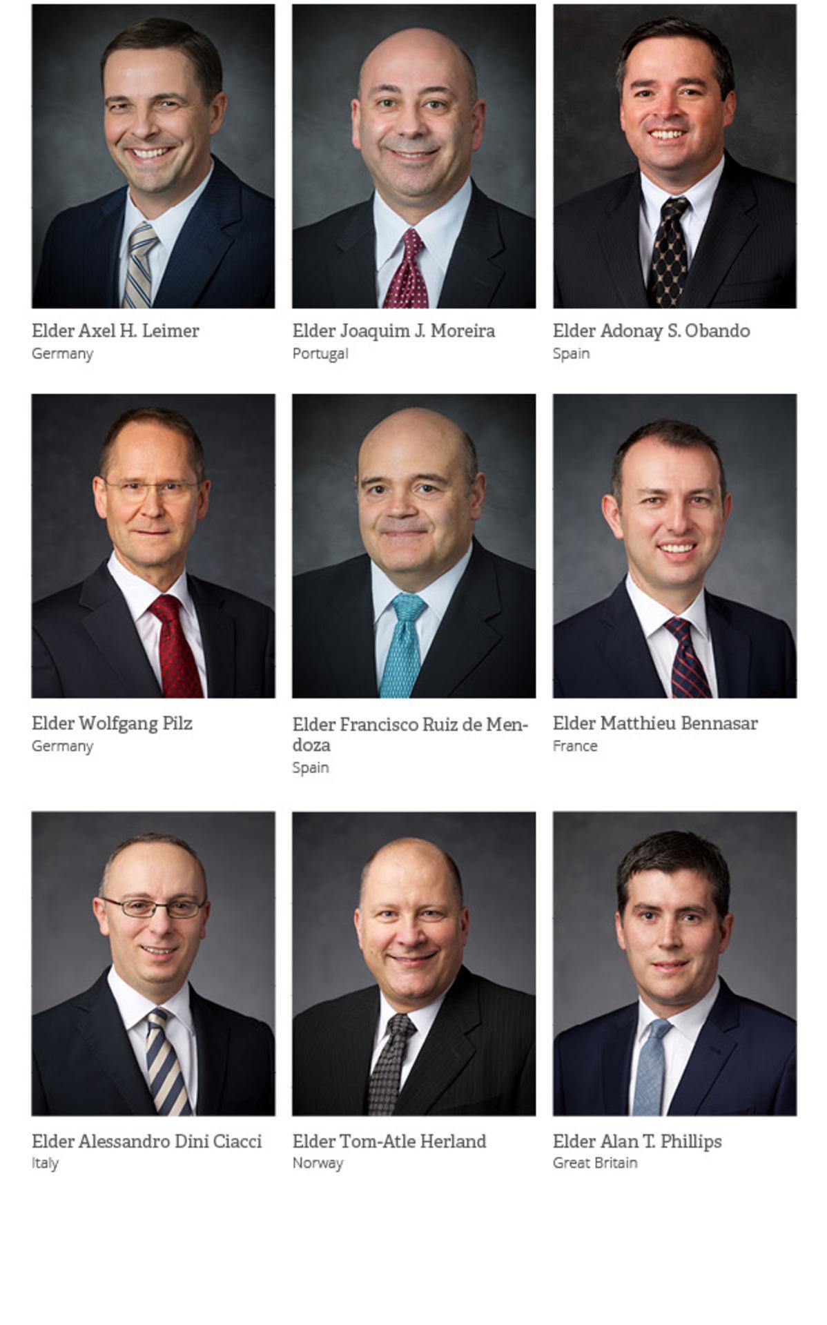 Europe Area Leadership Portraits